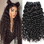 4 חבילות שיער ויאטנמי Water Wave 8A שיער אנושי שיער אדםלא מעוב טווה שיער אדם טיפוח שיער הארכה 8-28 אִינְטשׁ צבע טבעי שוזרת שיער אנושי רך הגעה חדשה עבה תוספות שיער אדם בגדי ריקוד נשים