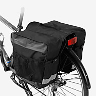 Χαμηλού Κόστους Διπλές τσάντες σέλας ποδηλάτου-ROSWHEEL 30 L Τσάντα αποσκευών για ποδήλατο / Διπλή τσάντα σέλας ποδηλάτου Αδιάβροχη, Αδιάβροχο, Μικρού μεγέθους Τσάντα ποδηλάτου Πολυεστέρας Τσάντα ποδηλάτου Τσάντα ποδηλασίας Ποδηλασία