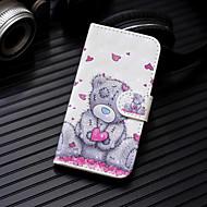 billiga Mobil cases & Skärmskydd-fodral Till Huawei P20 Pro / P20 lite Plånbok / Korthållare / med stativ Fodral Hjärta / Djur Hårt PU läder för Huawei P20 / Huawei P20 Pro / Huawei P20 lite