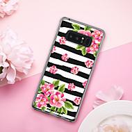 billiga Mobil cases & Skärmskydd-BENTOBEN fodral Till Samsung Galaxy Note 8 Stötsäker / Plätering / Mönster Skal Frukt / Blomma Mjukt TPU / PC för Note 8