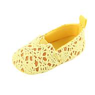 baratos Sapatos de Menino-Para Meninos / Para Meninas Sapatos Tecido elástico Primavera & Outono / Inverno Conforto / Primeiros Passos Rasos Elástico para Bebê Amarelo / Fúcsia / Rosa claro