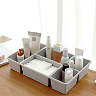 billige Lagring og oppbevaring-PP Rektangulær Nuttet Hjem Organisasjon, 1pc Oppbevaringskasser