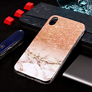 Etui Til Apple iPhone XS / iPhone XS Max IMD / Mønster Bakdeksel Marmor Myk TPU til iPhone XS / iPhone XR / iPhone XS Max