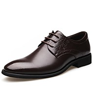 baratos Sapatos de Tamanho Pequeno-Homens Sapatos formais Sintéticos Outono Negócio Oxfords Não escorregar Preto / Marron