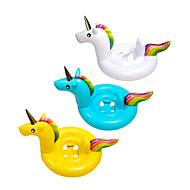 Χαμηλού Κόστους Διασκέδαση στην πισίνα και στο νερό-Φουσκωτά πισίνας Κουνήστε τα δαχτυλίδια Unicorn Δημιουργικό Λατρευτός PVC / Vinyl Παιδικά Γιούνισεξ Παιχνίδια Δώρο 1 pcs