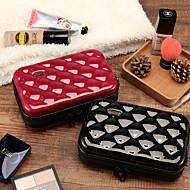 tanie Przechowywanie biżuterii-Przechowywanie Organizacja Kosmetyczny makijaż organizator Plastik Kwadrat Przenośny