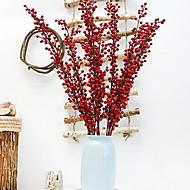 billige Kunstige blomster-Feriedekorasjoner Halloween dekorasjoner Halloween underholdende Dekorativ Rød 1pc