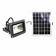 billige Utendørs Lampeskjermer-1pc 10 W Solar Wall Light Vanntett / Solar / Dekorativ Varm hvit / Kjølig hvit 5 V Utendørsbelysning / Courtyard / Have 1 LED perler