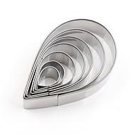 baratos Moldes para Bolos-Ferramentas bakeware Aço Inoxidável + Plástico ABS / Aço Inoxidável Fofo / Novo Design / Multifunções Pão / Bolo / Biscoito bolo de cortador 7pçs