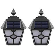 billige Utendørs Lampeskjermer-brelong sollys kontroll induksjon flamme vegg lys 2 stk