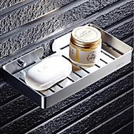 Χαμηλού Κόστους Προϊόντα μπάνιου-Πιάτα Σαπούνι & Κάτοχοι Τρύπα Μοντέρνα Ανοξείδωτο Ατσάλι 1pc - Μπάνιο / Ξενοδοχείο μπάνιο Μονό Επιτοίχιες