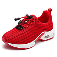 baratos Sapatos de Menino-Para Meninos / Para Meninas Sapatos Com Transparência Primavera / Outono Conforto Tênis para Infantil Preto / Vermelho