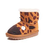 baratos Sapatos de Menina-Para Meninos / Para Meninas Sapatos Camurça / Couro Ecológico Inverno Botas de Neve Botas Velcro para Bébé Azul / Rosa claro / Khaki / Botas Curtas / Ankle
