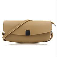 baratos Clutches & Bolsas de Noite-Mulheres Bolsas PU Bolsa de Mão Ziper Rosa / Cinzento / Khaki