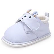 baratos Sapatos de Menino-Para Meninos / Para Meninas Sapatos Algodão Outono & inverno Primeiros Passos Rasos Velcro para Bebê Roxo / Rosa claro / Azul Claro