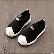 baratos Sapatos de Menino-Para Meninos / Para Meninas Sapatos Lona Primavera Conforto Tênis para Bébé Branco / Preto / Rosa claro