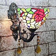 billige Vanity-lamper-Kreativ / Smuk Tiffany / Retro / vintage Vegglamper / Baderomsbelysning Soverom / Innendørs Harpiks Vegglampe 110-120V / 220-240V 25 W