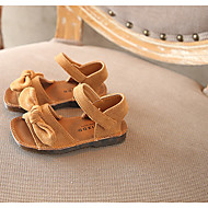baratos Sapatos de Menino-Para Meninos / Para Meninas Sapatos Microfibra Primavera Conforto Sandálias para Bébé Bege / Amarelo / Rosa claro