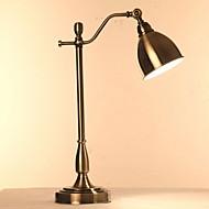 billige Skrivebordslamper-Traditionel / Klassisk Nytt Design Skrivebordslampe Til Kontor Metall 220V Svart
