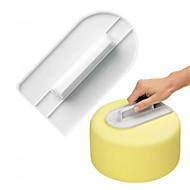 billige Bakeredskap-Bakeware verktøy Plast Kreativ Kjøkken Gadget Kake / For kjøkkenutstyr Kvadrat Baking & Konditor Spatler 1pc
