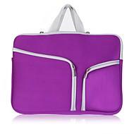 billige Computertasker-Oxfordtøj Laptoptaske Lynlås Lilla / Rosa / Himmelblå