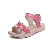 baratos Sapatos de Menino-Para Meninos / Para Meninas Sapatos Microfibra Verão Conforto Sandálias para Bébé Vermelho / Rosa claro