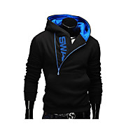 cheap Men's hoodies-Men's Active Long Sleeve Hoodie - Color Block Hooded Dark Gray XXXXL / Fall / Winter