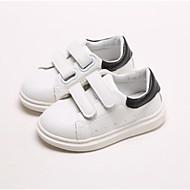 baratos Sapatos de Menino-Para Meninos / Para Meninas Sapatos Couro Sintético Primavera Conforto Tênis para Bébé Preto / Rosa claro