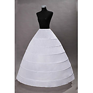 cheap -Princess Gothic Medieval Costume Women's Petticoat White Vintage Cosplay Polyster
