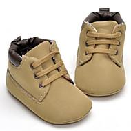 baratos Sapatos de Menino-Para Meninos Sapatos Couro Ecológico Primavera Conforto Rasos para Bébé Khaki