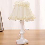 billige Skrivebordslamper-Moderne / Nutidig Nytt Design / Dekorativ Skrivebordslampe Til Pigeværelse Tre / Bambus 220V Hvit