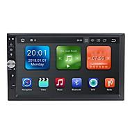 Factory OEM WN7092 7 hüvelyk 2 Din Android 8.1 In-Dash DVD lejátszó / Autós multimédia lejátszó / Autós GPS navigátor GPS / Bluetooth / RDS mert Univerzalno / Univerzális RCA / GPS Támogatás MPEG