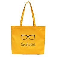 baratos Bolsas de Ombro-Mulheres Bolsas Tela de pintura Bolsa de Ombro Ziper Floral Rosa / Cinzento / Amarelo