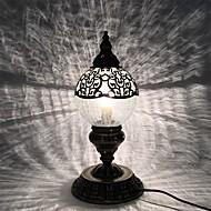 billige Skrivebordslamper-metallic Bue / Kreativ / Smuk Skrivebordslampe Til Soverom / Barnerom Metall AC100-240V Hvit