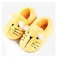 baratos Sapatos de Menina-Para Meninos / Para Meninas Sapatos Algodão Inverno Conforto Chinelos e flip-flops para Bébé Cinzento / Amarelo / Rosa claro