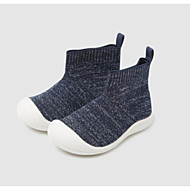 baratos Sapatos de Menino-Para Meninos / Para Meninas Sapatos Tecido elástico Primavera & Outono Primeiros Passos / Botas da Moda Botas para Bebê Azul Escuro / Rosa claro