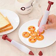 baratos Utensílios de Decoração-Ferramentas bakeware Plástico Adorável Para utensílios de cozinha Sobremesa decoradores 1pç