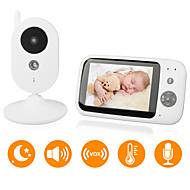 billiga Babymonitorer-DIDSeth® 0.3 mp Baby Monitor CMOS / micro / Pan och Tilt 131 ° ° C Night Vision Range 5 m 0 GHz