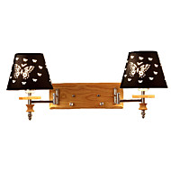 billige Vegglamper-OYLYW Søtt / Nytt Design Enkel / Moderne Moderne Vegglamper / Swing Arm Lights Stue / Soverom Metall Vegglampe 110-120V / 220-240V 60 W