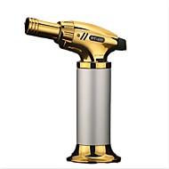 компактный бутан реактивный зажигалка турбо факел зажигалка огонь ветрозащитный пистолет металлический зажигалка без газа сигарет аксессуары случайный цвет