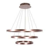 billige Takbelysning og vifter-CONTRACTED LED® 3-Light Sirkelformet / Originale Lysekroner Nedlys Børstet Aluminum Justerbar, Nytt Design, Kul 110-120V / 220-240V Varm Hvit / Kald Hvit