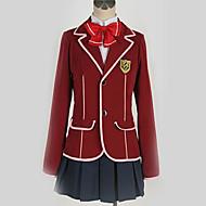 Innoittamana Guilty Crown Inori Yuzuriha Anime Cosplay-asut Koulu-univormut Englantilainen / Moderni Solmio / Takki / Pusero Käyttötarkoitus Miesten / Naisten