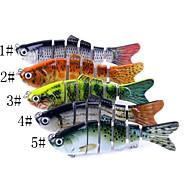 billiga Fiske-1 pcs Hårt bete / Fiskbete / Fiske Verktyg Hårt bete Kolstål / ABS Vattentålig / Lätt att bära / Lättvikt Sjöfiske / Kastfiske / Spinnfiske