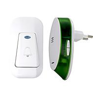 billige Dørklokkesystemer-trådløs en til en dørklokke musikklyd justerbar innendørs