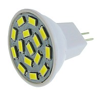 billige Spotlys med LED-SENCART 1pc / 6pcs 6W 450lm G4 / MR11 LED-spotpærer MR11 15 LED perler SMD 5630 Dekorativ Varm hvit / Hvit / Blå 12-24V