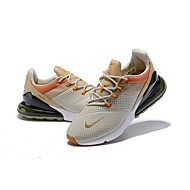 cheap -Men's Light Soles Leather Spring &  Fall / Spring / Summer Sporty / Casual Athletic Shoes Running Shoes / Fitness & Cross Training Shoes / Walking Shoes Breathable Beige / Non-slipping / Wear Proof