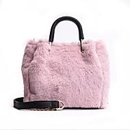 baratos Bolsas de Ombro-Mulheres Bolsas Poliéster Bolsa de Ombro Ziper Rosa / Marron / Khaki