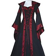 Per donna Vintage Fodero Vestito - Collage, Tinta unita / A strisce Maxi