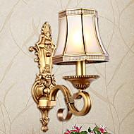 billige Taklamper-Kreativ Traditionel / Klassisk Vegglamper Soverom / Innendørs Metall Vegglampe 220-240V 25 W