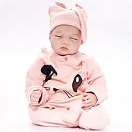 FeelWind Reborn Dolls Poikavauvat 22 inch Silikoni Vinyyli - elävä Käsintehty Sievä Lapset / nuoret Myrkytön Lasten Unisex Lelut Lahja